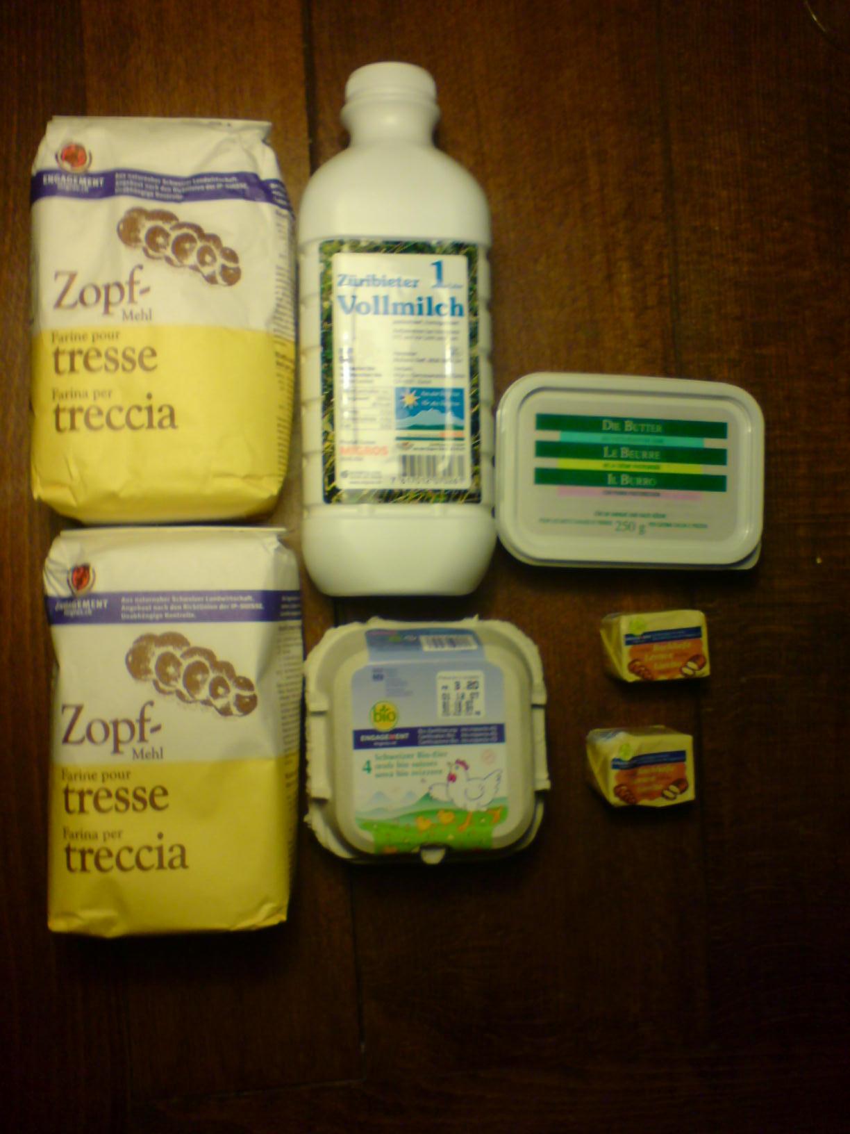 Zopf Step 1