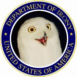 U.S. Department of Irony