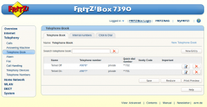 FritzBox-telnet-phonebook